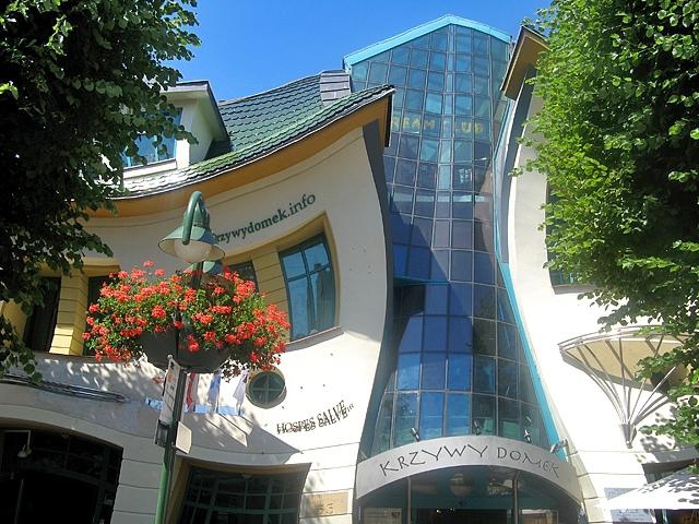 Кривий будинок в Сопоті
