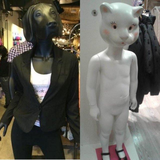 Шокирующие манекены со всей планеты
