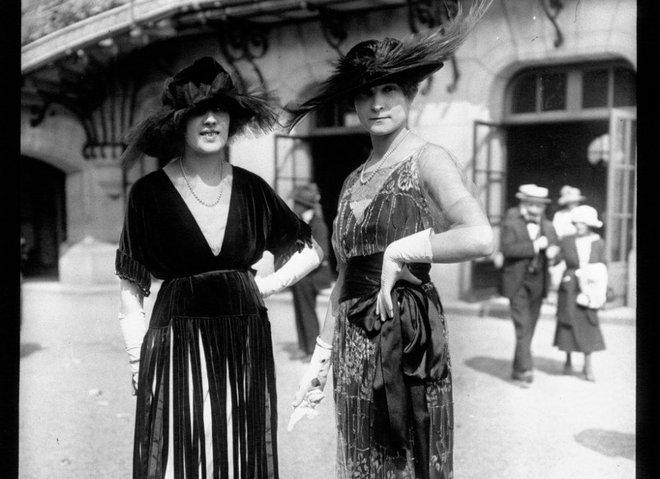 Первая уличная мода Парижа 1910-1920 годов