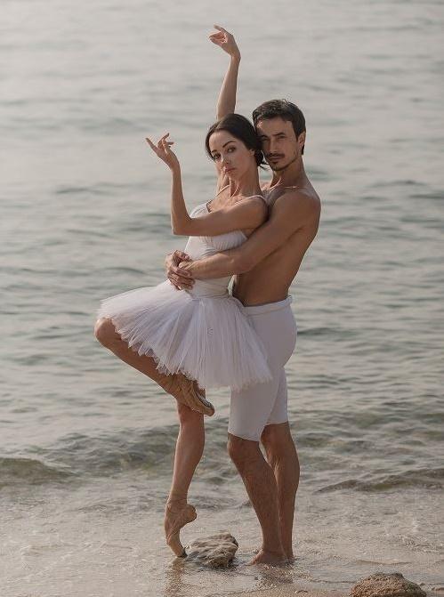 Звезды на отдыхе: артисты балета Екатерина Кухар и Александр Стоянов рассказали об отпуске в Украине
