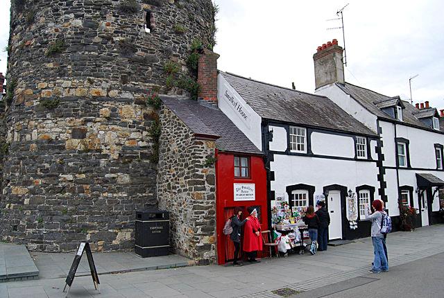 5 самых маленьких домиков в мире: Дом в Великобритании