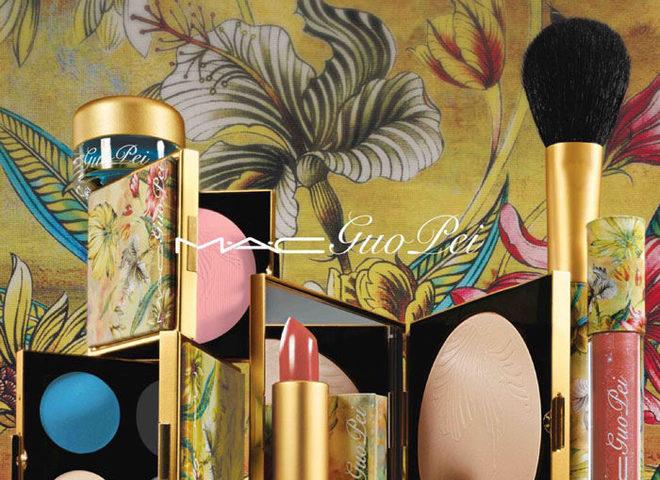 Рождественская коллекция макияжа MAC Guo Pei Makeup Collection Holiday 2015