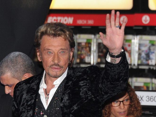 Умер французский рок-певец Джонни Холлидей