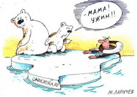 Карикатуры с черным юмором