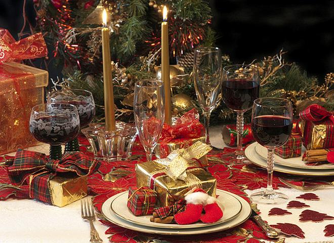Вірші про Різдво, Різдвяний стіл
