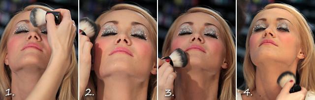 Мастер-класс по макияжу - Новогодний макияж яркий.