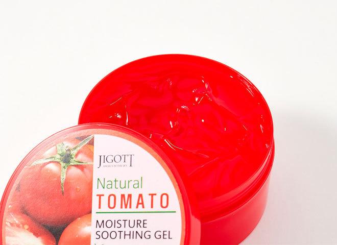 Jigott Natural Tomato Moisture Soothing Gel