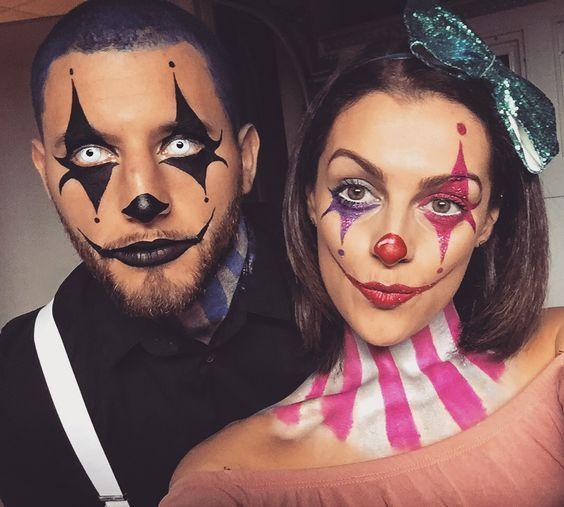 Парные костюмы на Хэллоуин 2017