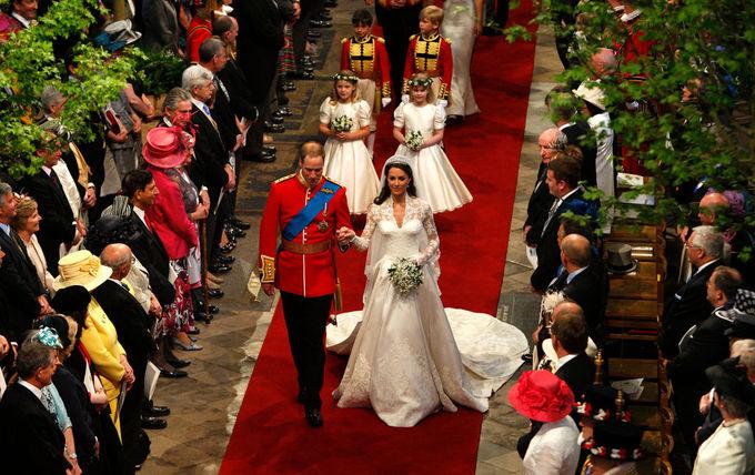 Свадьба принца Уильяма, герцога Кембриджского, и Кэтрин Миддлтон