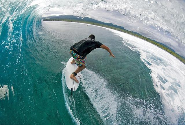 Лучшие места для серфинга: Самоа, Полинезия