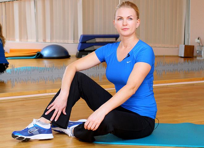 Мастер- класс Фитнес для занятых