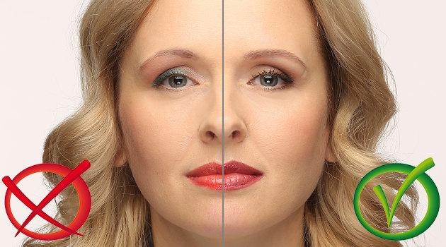 Ошибки дневного макияжа