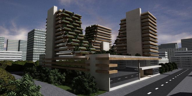 Экодом Архитектурная линия