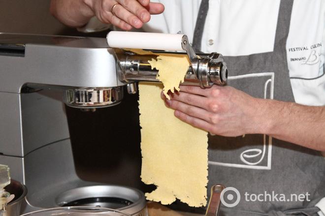 Кулинарная Академия Эктора Хименес-Браво: мастер-класс по приготовлению теста для пасты