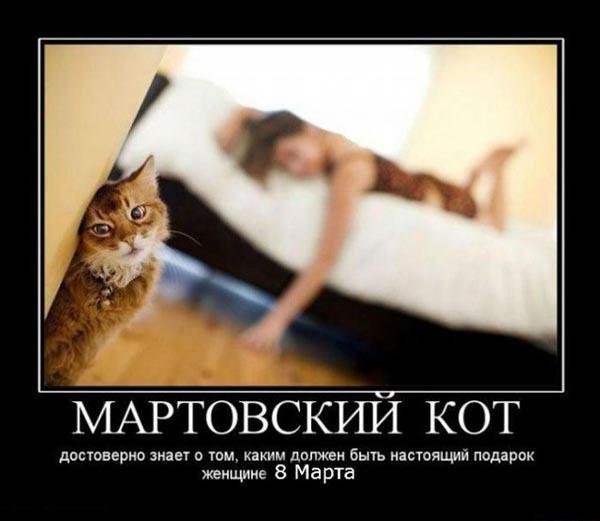 ТОП лучших демотиваторов про 8 марта