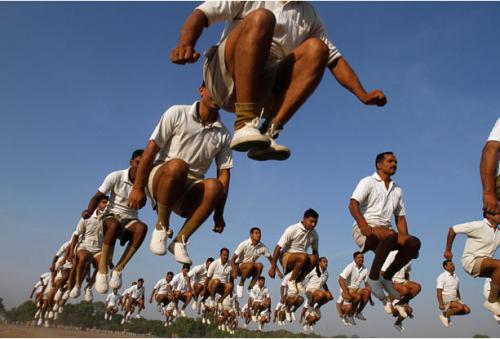 Массовый прыжок