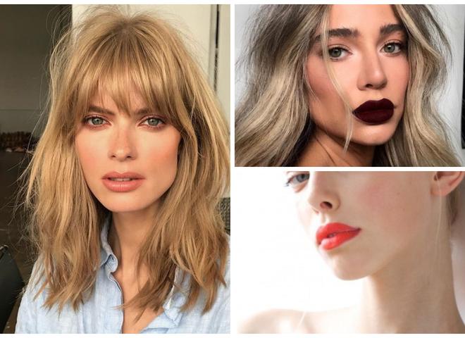 Модні помади 2019 для блондинок