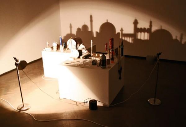 Фантастические картины тенью