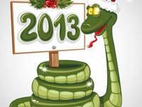 С Новым годом Змеи 2013