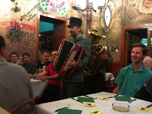 рестораны Праги - U kalicha