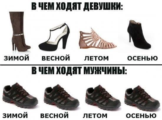Женщины & Мужчины & обувь