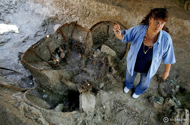 Археологічні розкопки в Греції