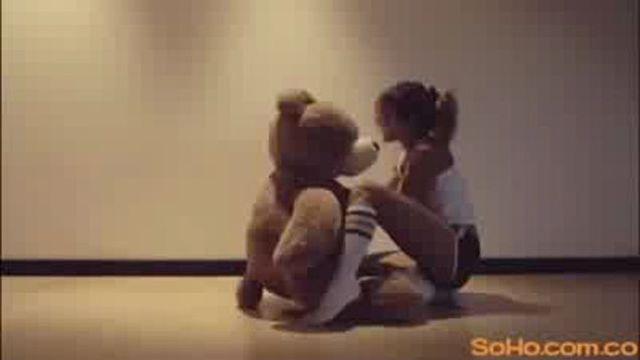 Секс с плюшевой мишкой