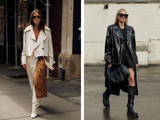 Бежевый, зеленый и с джинсовыми вставками: модные тренчи 2021