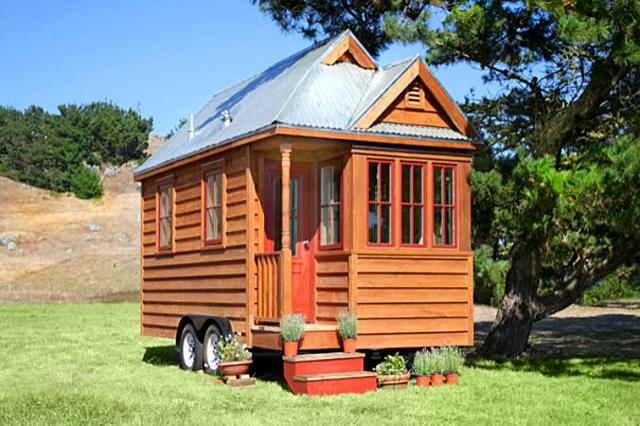 5 самых маленьких домиков в мире: Дом в США