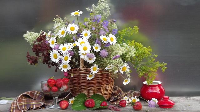 Весенний букет на День Рождения