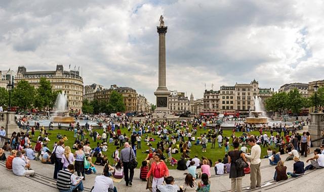 Лондон за два дні: Трафальгарська площа