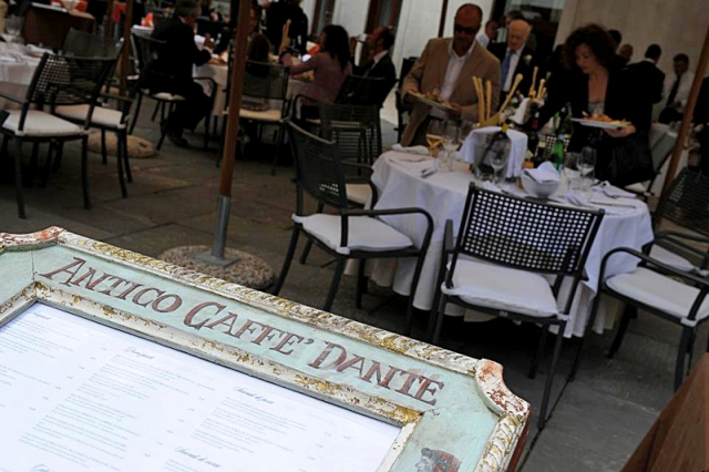 Достопримечательности Вероны: Antico Caffe Dante