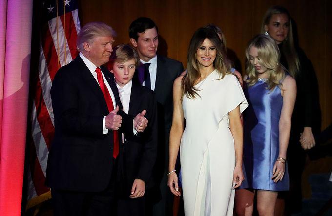 Мелания Трамп в одном платье дважды