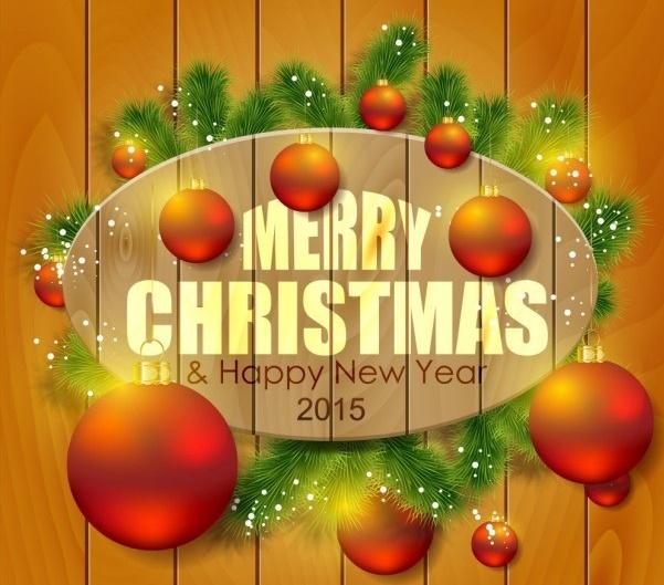 Счастливого Нового года и Рождества