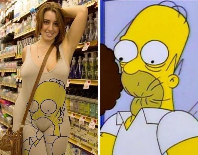 Забавное сходство