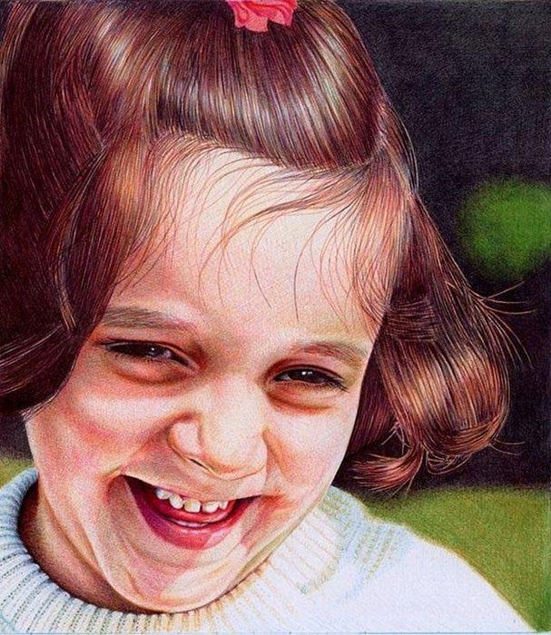 Фотореалистичные картины шариковыми ручками (Ч. 1)