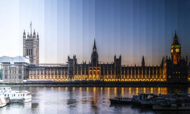 Кусочки времени: как выглядят культовые здания на протяжении дня