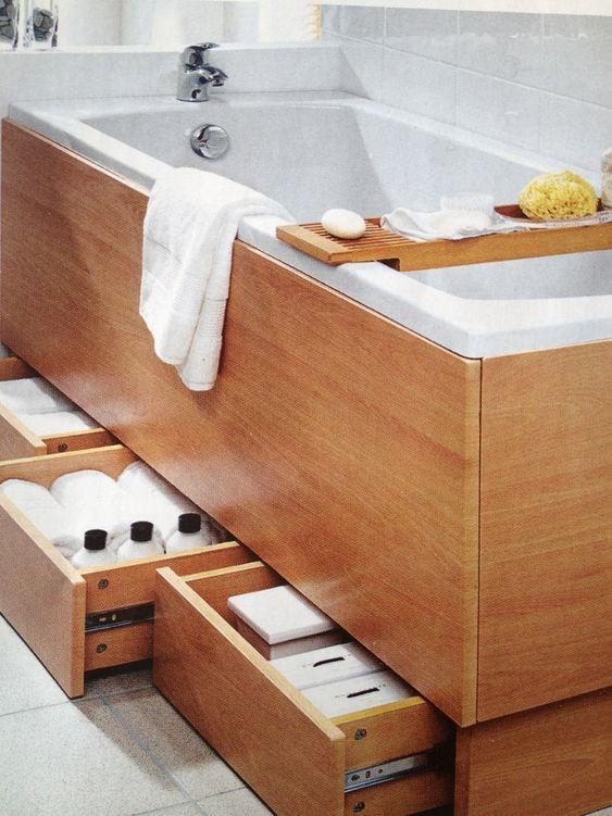 Висувні ящики під ванною