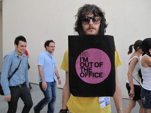 Вне офиса!