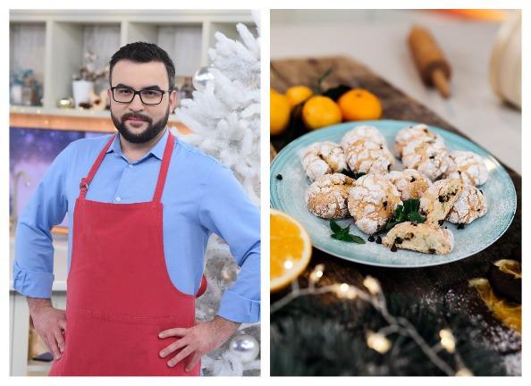 Руслан Сеничкин: рецепт шоколадно-апельсинового печенья