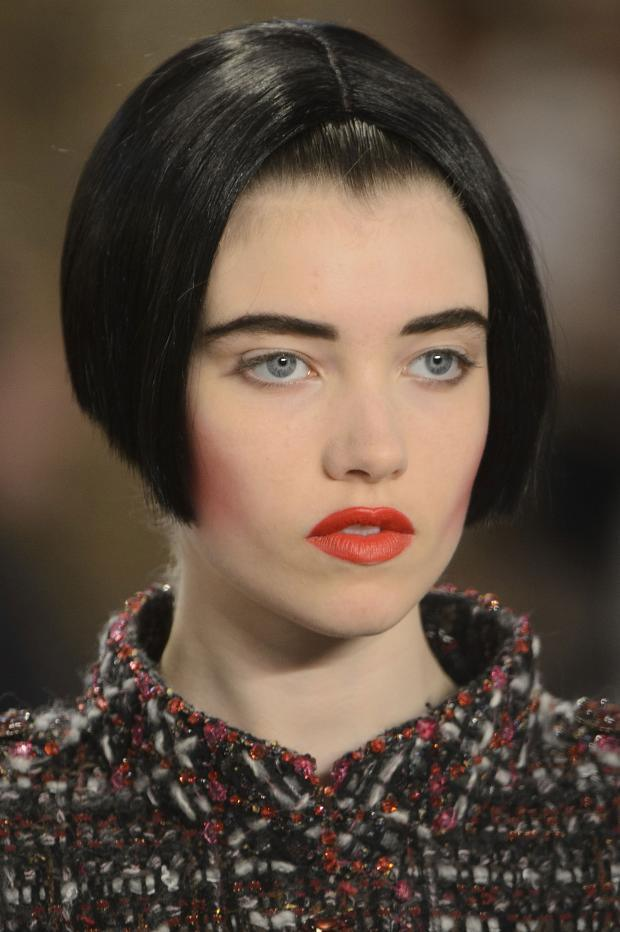 Б'юті-образи на показі Chanel Haute Couture