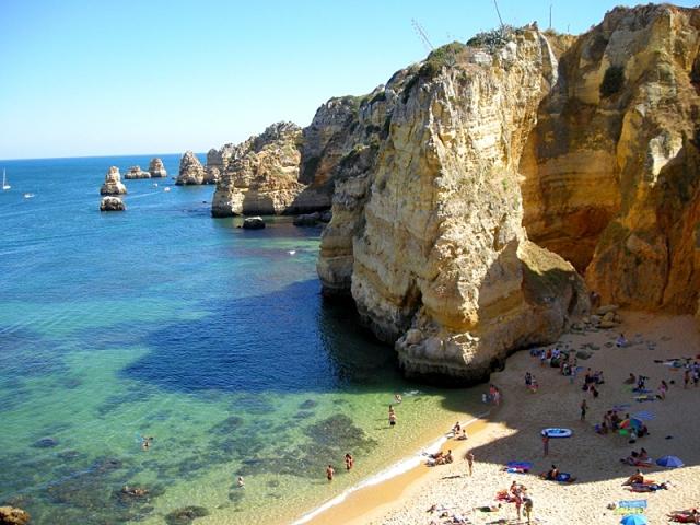 Пляжі Алгарве: Praia da Dona Ana