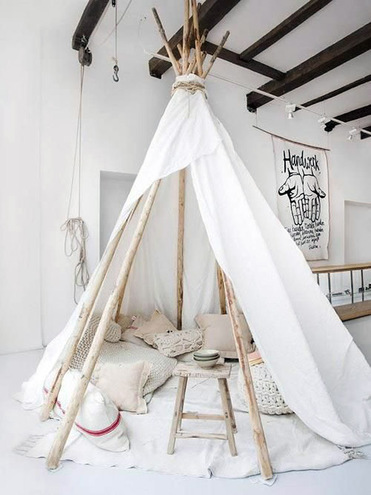 Типи - модні ідеї для дому та заміського відпочинку