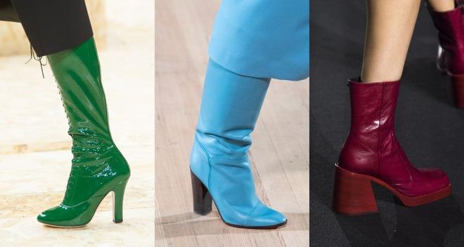 Модная обувь весна 2020