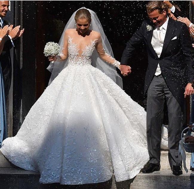 Свадебное платье Виктории Сваровски
