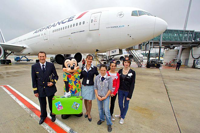 Втрата багажу в аеропорту: Air France