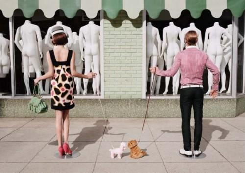 Люди - манекены
