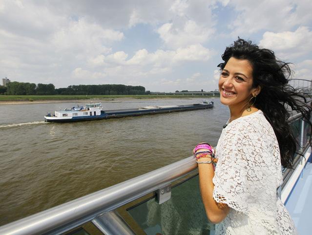 Группа Blue совершила круиз по Рейну!