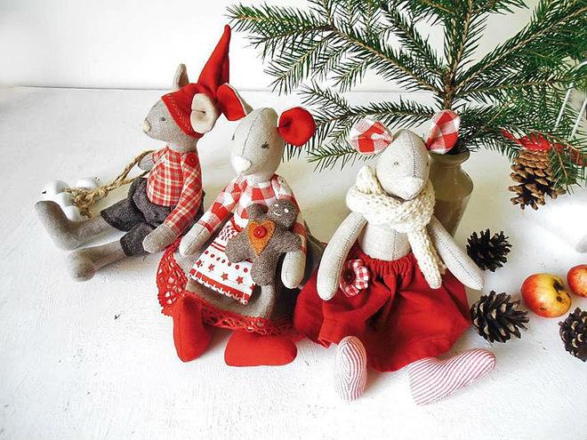 Текстильные новогодние игрушки своими руками выкройки фото 338
