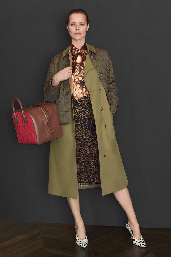 Модные оттенки осени 2019